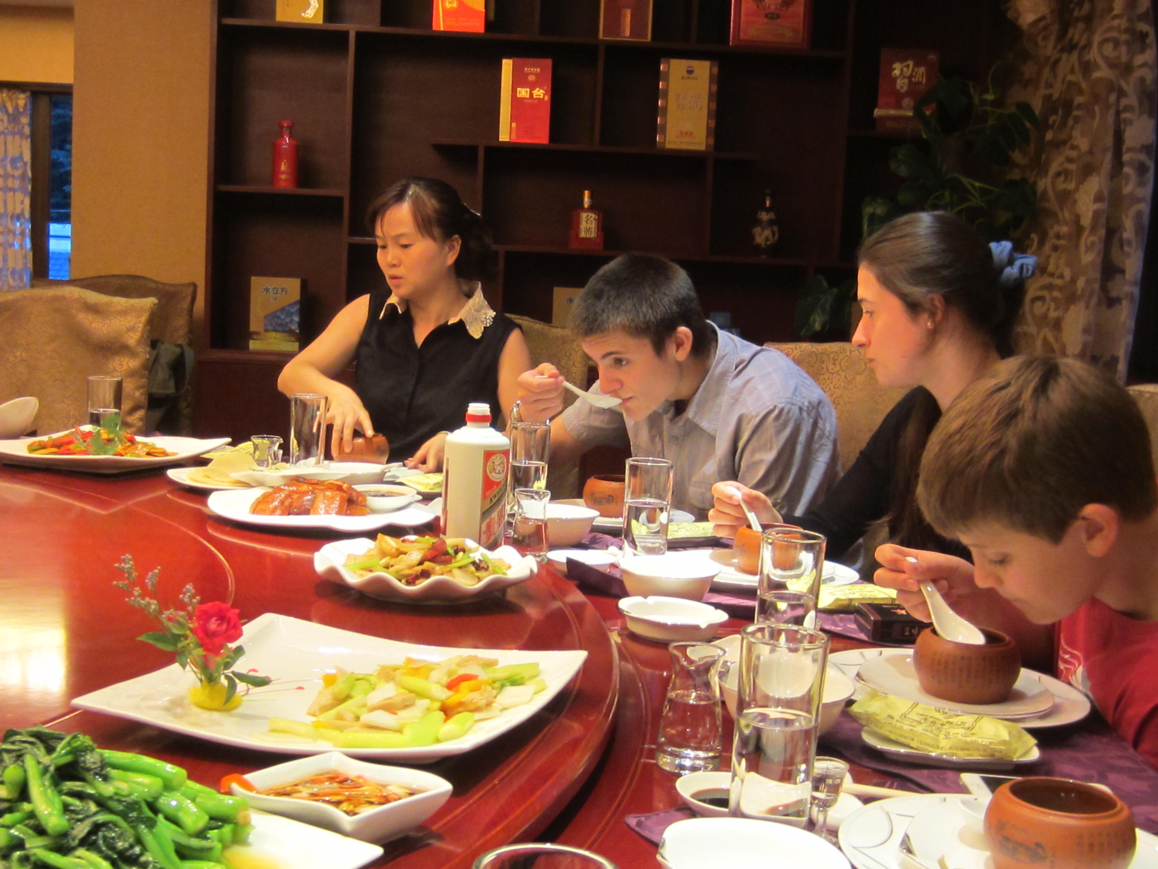 Lou socrizotolou en chine for Table exterieur mcdo